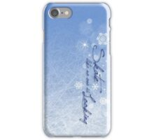 Skate like no one is looking iPhone Case/Skin
