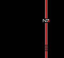 Mass Effect N7 Logo by queencarnage