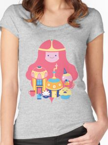 Candy Kingdom Women's Fitted Scoop T-Shirt