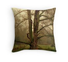 One Foggy Day  Throw Pillow