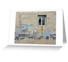 small window Greeting Card