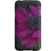 Single pink anemone Samsung Galaxy Case/Skin