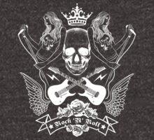 Rock Star (Skull) by Vivian Lau