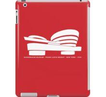 Guggenheim Museum Frank LLoyd Wright Architecture Tshirt iPad Case/Skin