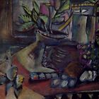 STILL LIFE WITH NUDE PHOTO(C1995) by Paul Romanowski