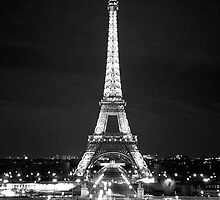 Eiffel Tower At Night by Heidi Hermes