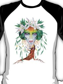 Willow tree. Forest dryad T-Shirt