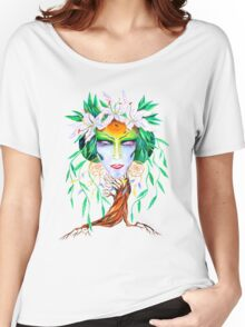 Willow tree. Forest dryad Women's Relaxed Fit T-Shirt