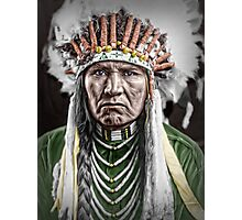 Nez Percé Indian Photographic Print