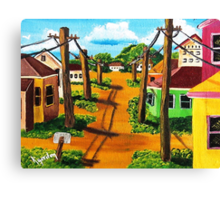 Lil' Walatowa St. Canvas Print
