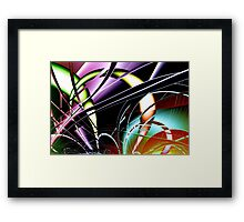 'Connections' Framed Print