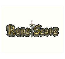 Classic RuneScape Art Print