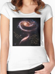 A Rose of Galaxies for Spock Women's Fitted Scoop T-Shirt