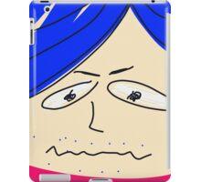 Blue hair iPad Case/Skin