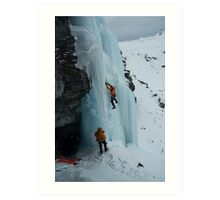 Water ice I Art Print