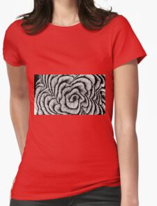Vector swirl Womens Fitted T-Shirt