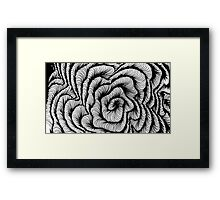 Vector swirl Framed Print