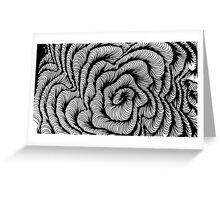 Vector swirl Greeting Card