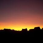 Sunset in Poznań by Laura60