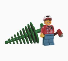 LEGO Lumberjack with a Tree Kids Clothes