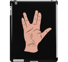 Live Long and Prosper Hand Sign iPad Case/Skin