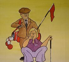 Golf Advice Cartoon by greve