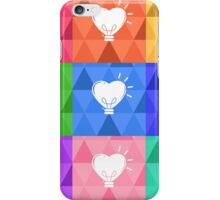 Heart Lamps iPhone Case/Skin
