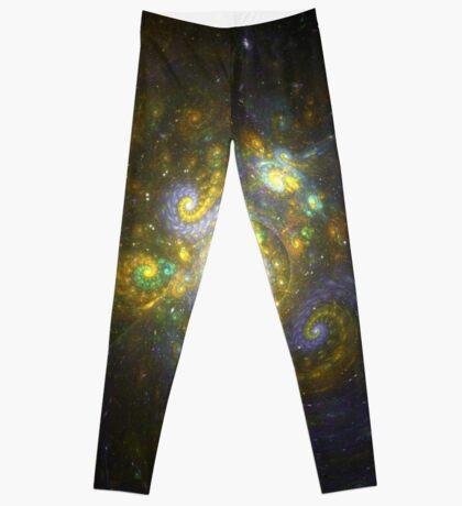 I Choose You [Pikachu Galaxy]    Fractal Art by Douglas Fresh Leggings