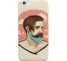 Flower Beard v1 iPhone Case/Skin