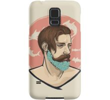 Flower Beard Samsung Galaxy Case/Skin