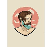 Flower Beard Photographic Print