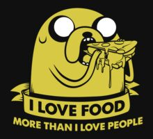 I love food more than I love people by prspark