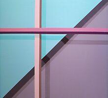 Floating Cross by David Bush
