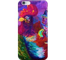 Rooster on the Horizon iPhone Case/Skin
