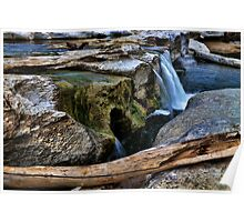 McKinney Falls State Park-Lower Falls Poster