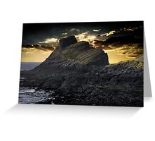 worms head sunset Greeting Card