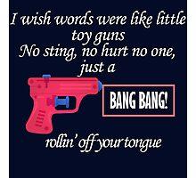 Little Toy Guns Photographic Print