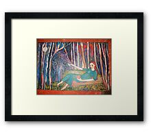 Dreamer- showing more of it's colour  Framed Print