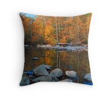 AUTUMN,MIDDLE PRONG Throw Pillow