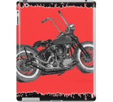 Knuckle on red iPad Case/Skin