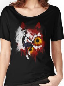Mononoke Graffiti Women's Relaxed Fit T-Shirt