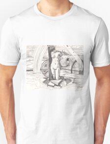 APRODITE(C1996)(INK PEN DRAWING) Unisex T-Shirt
