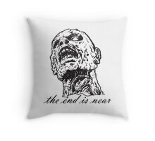zombie Art Throw Pillow