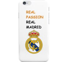 Real Passion Real Madrid iPhone Case/Skin