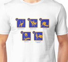 any wild animals up here, pop? Unisex T-Shirt