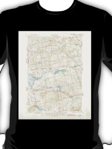 Maine USGS Historical Map Stetson 460930 1935 62500 T-Shirt