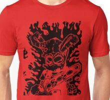 Chainsaw Bunny 4 - inverted Unisex T-Shirt