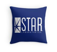 THE FLASH - S.T.A.R. Labs  Throw Pillow