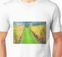 Lamole-Chianti-Toscany on raining day Unisex T-Shirt