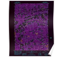 Maine USGS Historical Map Stetson 807207 1982 24000 Inversion Poster